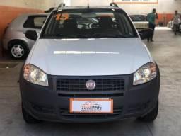 Fiat Strada 1.4 CE working 2013 completo branca! - 2013