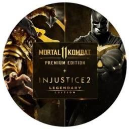Mortal Kombat + Injustice 2 Xbox One