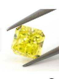 Diamante na cor amarela certificado laboratório IGL, $ 20.768,00 reais