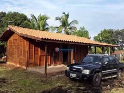 Rancho´no meio da natureza, as margens da represa, rico em peixes, 2 dormitórios à venda,