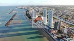Apartamento com 4 quartos, beira mar, à venda, 159 m² por R$ 1.150.000 - Casa Caiada - Oli