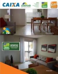 Aprovação facilitada! Valparaíso 1 até 100 % mcmv 2 qtos cidade jardins codg7569d9ns536