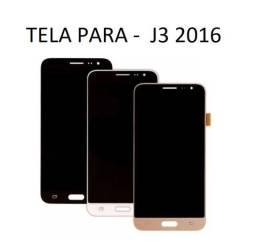 Tela Display Completo Samsung J3 2016 Duos J320- Já Instalada Na Hora !!!!