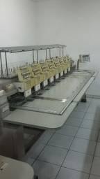 2 Máquinas de Bordar Plana SWF