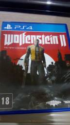 Wolfenstein 2 The New Colossus PS4 Mídia física
