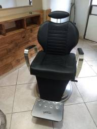 Cadeira de BARBEIRO profissional! Poltrona LORD!