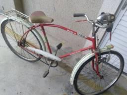 Bicicleta antiga Monark Brasil 71 TD original aro 28 só troca penel só segundo dono