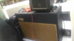Caixa vox 2x12 com cabeçote one Amp