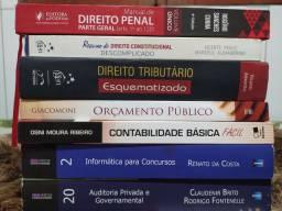 Combo de livros para concurso área Fiscal e de Controle