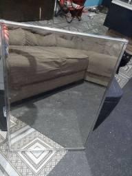 Espelhos em ótimo estado 60x40 com moldura de alumínio