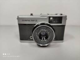 Antiga Câmera Olympus Trip 35 Retro Vintage Decoração Leia