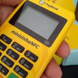 Máquina de cartão Pag Seguro modelo com NFC