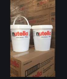 Nutella 3 kg Balde de Nutella Atacado Super Nutella