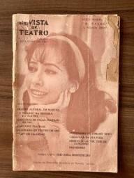 Revista de teatro raridade Fernanda Montenegro