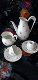Conjunto cafe porcelana inglesa antigo