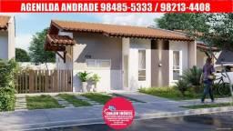 Vendo lindas casas no Residencial Bella Citta, 2 quartos, 57 m², estrada de ribamar