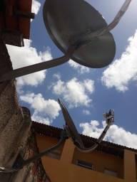 Técnico em antenas sky claro e oi tv