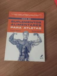 Livro suplementos alimentares para atleta