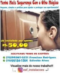 Título do anúncio: Atenção-Tenha mais Segurança Com o Olho Mágico-Feira de Santana-Ba