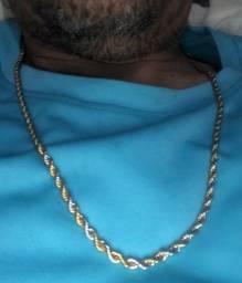 Cordões banhado a ouro