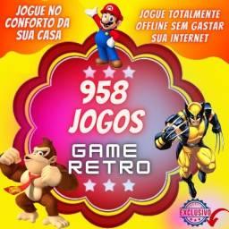 Game Retrô-Snes 958 jogos