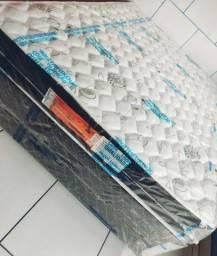 Vendo cama Box casal normal espuma D45 nova
