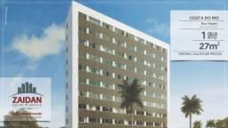 Apartamento de 1 quarto,  no edifício Costa do Rio - Setúbal