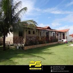 Casa com 5 dormitórios à venda, 900 m² por R$ 550.000,00 - Tabatinga - Conde/PB
