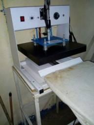 Máquina de estampar caneca e camisa