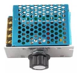 Regulador De Tensão Controle Velocidade 4000w 220v Scr Dimer