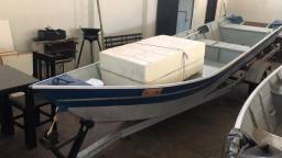 Barco e motor 6 metros