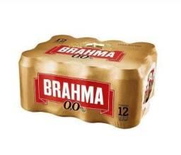 Cerveja Brahma Chopp Zero 350ml Pack Com 12