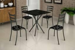Mesas de ardosia 4 cadeiras