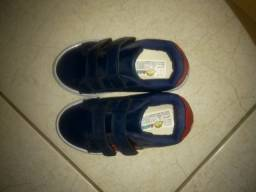 Sapato infantil masculino R$75,00