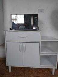 Vendo microondas Electrolux novo com balcão ou troco por TV