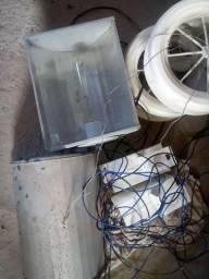 Refletor completo reator misto exaustores