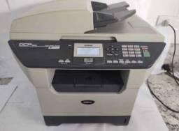 Impressora brother multifuncional monocromática