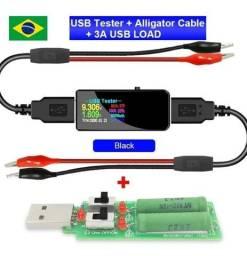 Kit Teste Usb - Multímetro Usb - Testador De Carregadores
