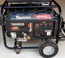 Gerador a gasolina Toyama G 6500cxe R$ 3900