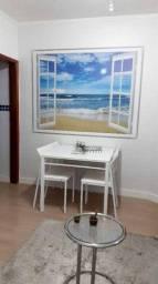 Apartamento em Vila Guilhermina, Praia Grande/SP de 45m² 1 quartos à venda por R$ 175.000,