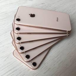 iPhone 8 64GB Dourado, Aparelho de Vitrine Com 100% Bateria - Super Oportunidade -