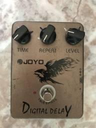 Pedal Joyo Jf-08 Guitarra Digital Delay Effect Pedal