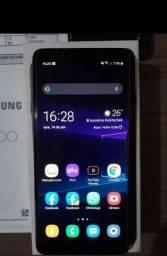 A9 2018 em ótimo estado 6 GB de ram 128 GB interno , celular top detalhes na descrição.
