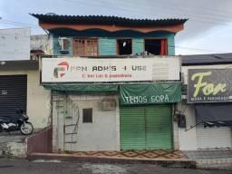 Ponto comercial com residência no (CENTRO DE MANACAPURU)