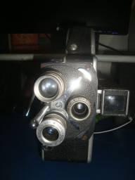Filmadora 3 lentes rara