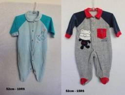 Tip-tops bebê recém-nascido 0-3 (pra sair logo) alguns vestem até 6 meses