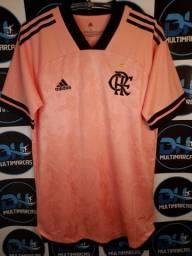 Camisa do Flamengo 20/21 Outubro Rosa