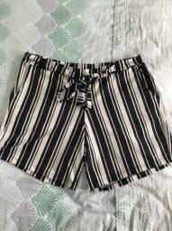 Shorts Listras pluz Size