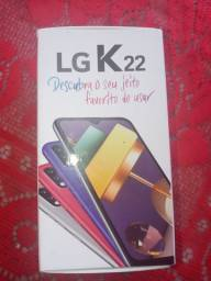 Caixa do lg k 22