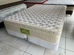 cama box QUEEN SIZE semi nova SEALY